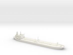 1/1250 Oil Tanker in White Natural Versatile Plastic