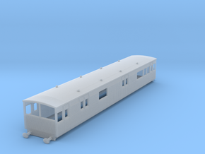 o-148fs-lyr-electric-baggage-car-3028 in Smooth Fine Detail Plastic