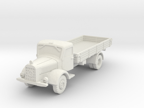 Mercedes L4500 A 1/87 in White Natural Versatile Plastic