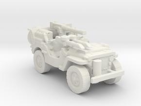 1/100 SAS Jeep ww2  4 in White Natural Versatile Plastic