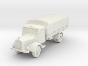 Mercedes L4500 (covered) A 1/100 in White Natural Versatile Plastic