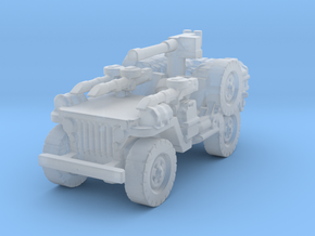 1/72 LRDG Jeep  4 in Smooth Fine Detail Plastic