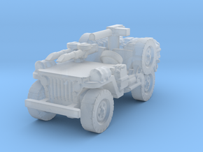 1/100 LRDG Jeep 1 in Smooth Fine Detail Plastic