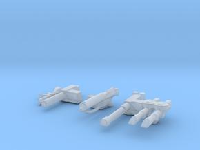 LRDG SAS guns 1/56 in Smooth Fine Detail Plastic