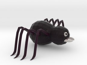 Cartoon Spider  in Natural Full Color Sandstone: Extra Small