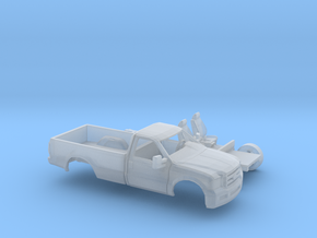 1/87 2005-07  Ford FSeries RegCab LongBed Kit in Smooth Fine Detail Plastic