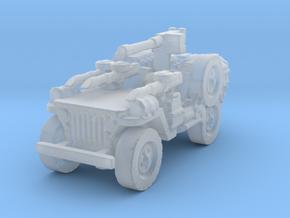1/56 28mm LRDG SAS Jeep 4 in Smooth Fine Detail Plastic