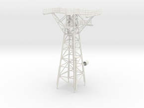 1/72 scale Perry Mast #3 - Main mast in White Natural Versatile Plastic