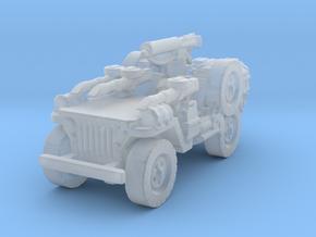 1/56 28mm LRDG SAS Jeep 6 in Smooth Fine Detail Plastic