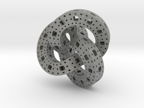 Menger Knot in Gray Professional Plastic