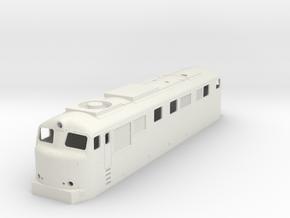 Dr15 H0 in White Natural Versatile Plastic