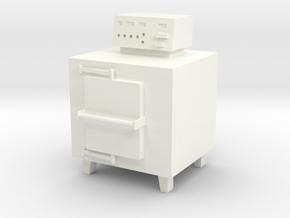 Small Incinerator in White Processed Versatile Plastic