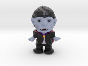 Dracula Figurine in Matte Full Color Sandstone