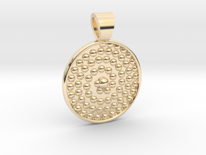 Life spiral [pendant] in 14K Yellow Gold