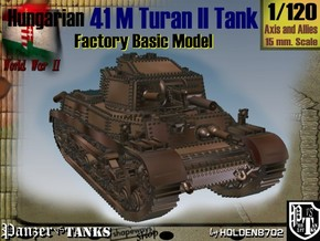 1-120 Hungarian 41M Turan II Basic in White Strong & Flexible