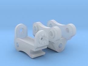 1:50 Komatsu PC138 Tilt Coupler  in Smooth Fine Detail Plastic