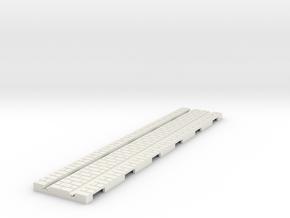 p-165-straight-long-tram-track in White Natural Versatile Plastic