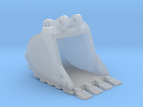 "1:50 36"" PC138 Bucket+ Spade teeth in Smooth Fine Detail Plastic"