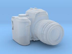 1/3rd Scale Digital Camera in Smooth Fine Detail Plastic