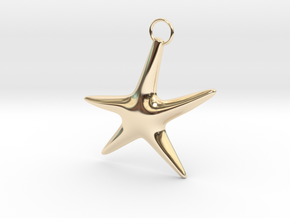 Asterias in 14k Gold Plated Brass
