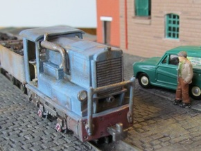 009 Industrial Diesel  in Smooth Fine Detail Plastic