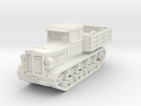 Komintern tractor scale 1/100 in White Natural Versatile Plastic
