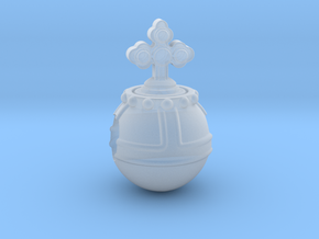 Holyhandgrenade_14mm in Smooth Fine Detail Plastic