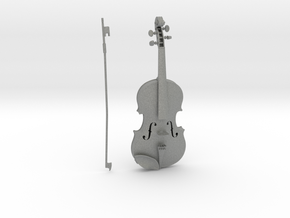 1/3rd scale Violin in Gray Professional Plastic
