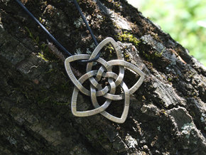 Venus flower pendant in Stainless Steel