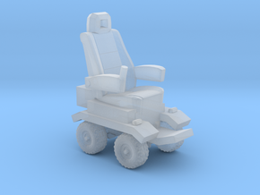 1/87 Scale Roughy Chair in Smooth Fine Detail Plastic