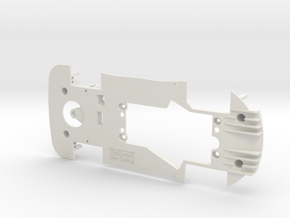 PSCA00102 Chassis for Carrera AMG GT3 Digital in White Natural Versatile Plastic