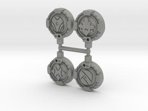 Guiding Hand Cyber Keys, Set of 4 in Gray Professional Plastic: Medium