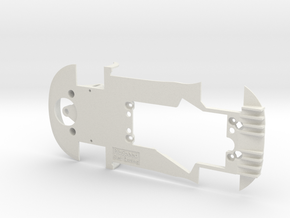 PSSX00201 Chassis for Scalextric McLaren MP4-12c in White Natural Versatile Plastic