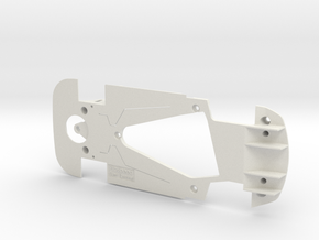 PSSX00502 Chassis for Scalextric Bentley GT3 (NSR) in White Natural Versatile Plastic