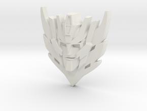 Rodimus Star Badge/Pendant in White Premium Versatile Plastic: Small