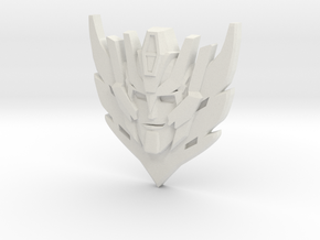 Rodimus Star Badge/Pendant in White Natural Versatile Plastic: Large