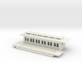 C3a - Swedish passenger wagon in White Natural Versatile Plastic