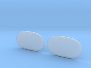 Scheinwerfergläser Unimog in Smoothest Fine Detail Plastic