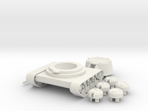 1/100 JN-129 Armament and Front Tracks in White Natural Versatile Plastic