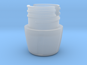 35mm Film Case Base in Smooth Fine Detail Plastic