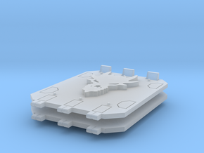 Dragon Jericho tank doors #1 in Smooth Fine Detail Plastic