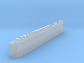 hadrian's wall 1/160 in Smooth Fine Detail Plastic