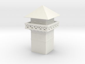 roman  Watchtower 1/144 in White Natural Versatile Plastic