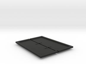 JK Skid Plate Pair in Black Natural Versatile Plastic