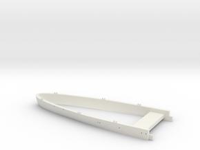 1/700 USS Kentucky BBAA-66 Waterline - Stern in White Natural Versatile Plastic