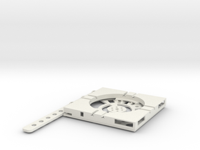 T-9-wagon-turntable-48d-100-plus-base-flat-1a in White Natural Versatile Plastic