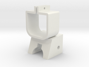 Zapper Bracket in White Natural Versatile Plastic