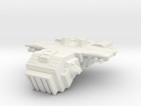 Space Army Storm Trooper Transport in White Natural Versatile Plastic