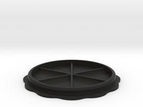 Isotta Gehaeusedeckel 101,5mm V2 in Black Natural Versatile Plastic