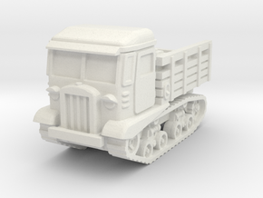 STZ-5 tractor 1/100 in White Natural Versatile Plastic